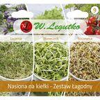 Zestaw łagodny nasiona na kiełki W. LEGUTKO