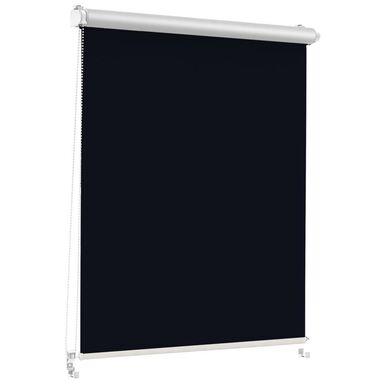 Roleta zaciemniająca Silver Click 43.5 x 150 cm czarna termoizolacyjna