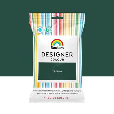 Tester farby Designer Colour 50 ml Trendy Beckers