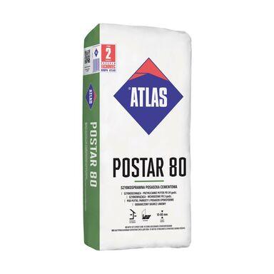 Posadzka cementowa POSTAR 80 25 kg ATLAS