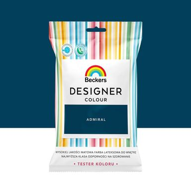 Tester farby Designer Colour 50 ml Admiral Beckers