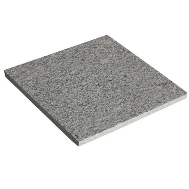 Płyta granitowa 30 x 30 x 1,8 - 2,1 cm szara strukturalna