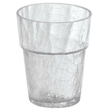 Osłonka do storczyka 15 cm szklana bezbarwna