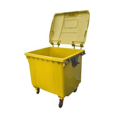 Pojemnik na odpady plastikowe i metalowe MGB 1100L żółty ESE