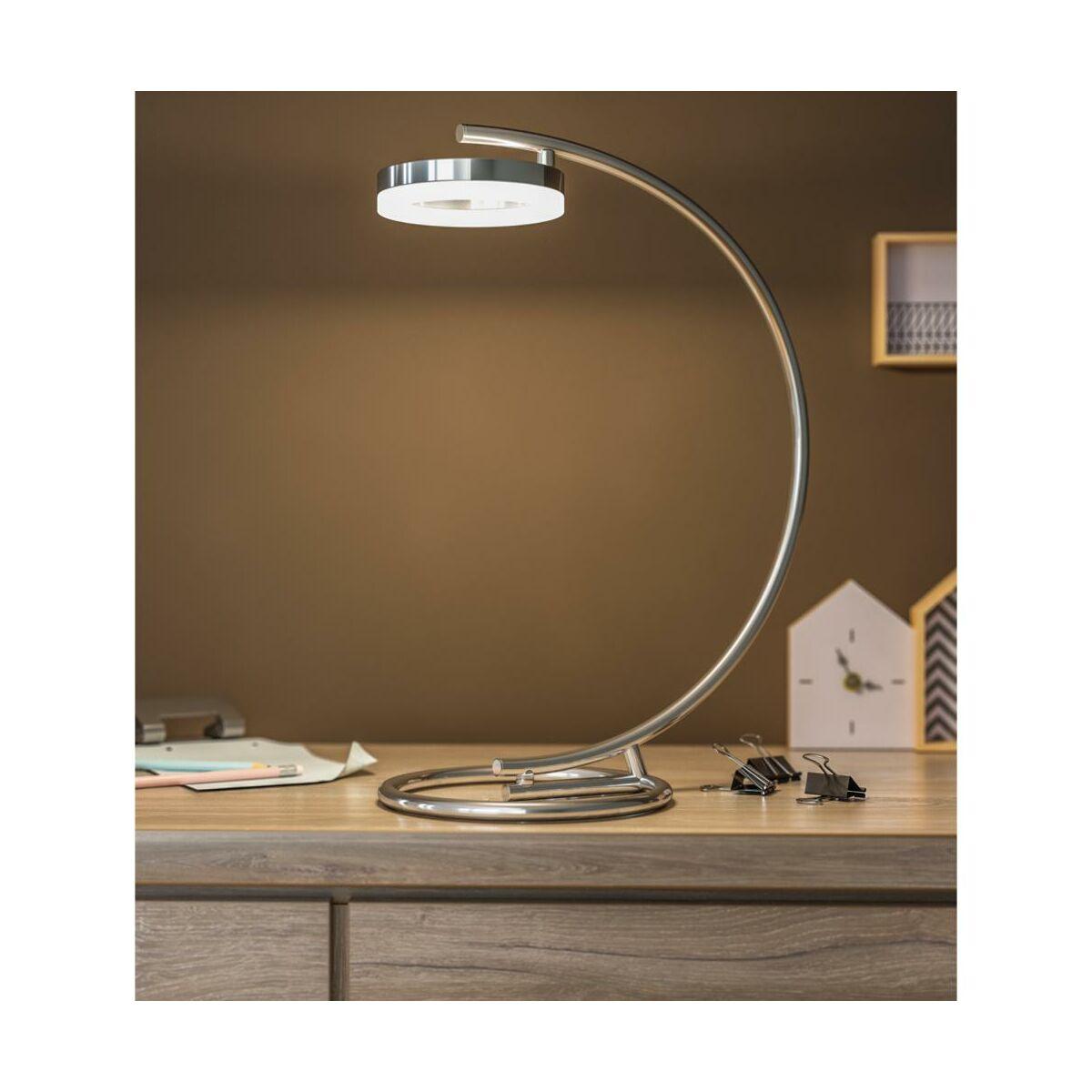 Lampka Biurkowa Iring Chrom Led Inspire Lampki Biurkowe I Klipsy W Atrakcyjnej Cenie W Sklepach Leroy Merlin