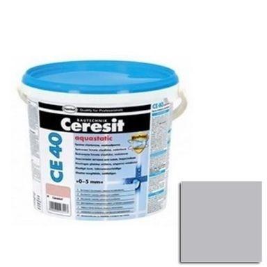 Fuga cementowa WODOODPORNA CE40  szary  5 kg CERESIT