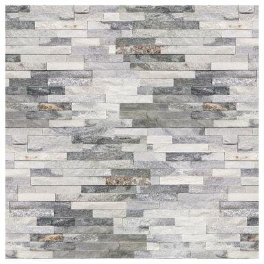 Kamień naturalny Kwarc biało - szary 40 x 10 cm 0.396m2 Steinblau