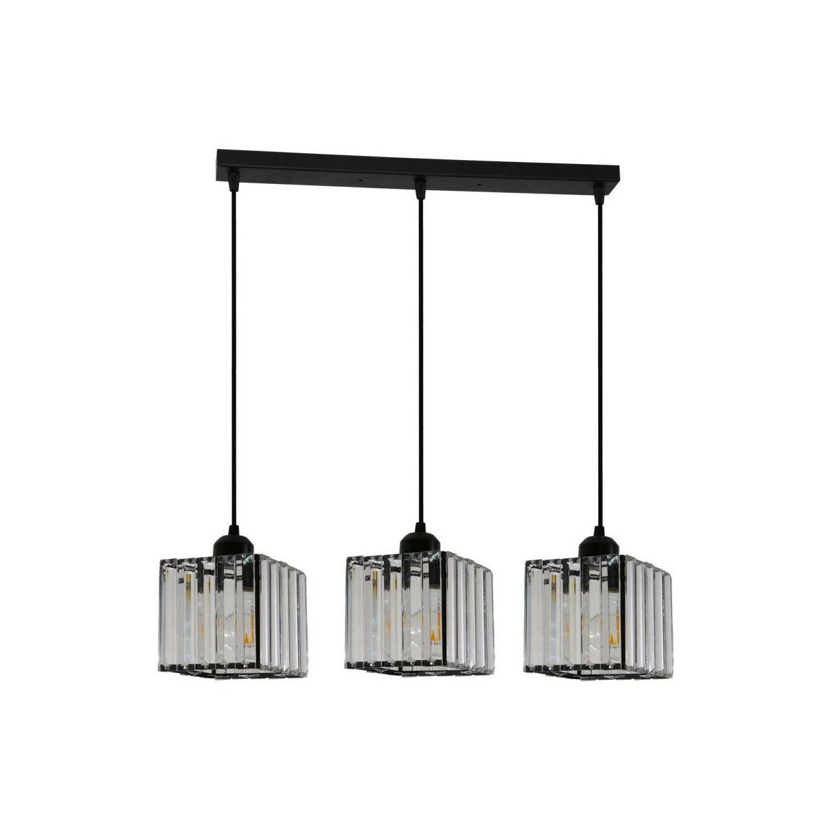 Lampa Wiszaca Galactico Czarna 3 X E27 Light Prestige Zyrandole Lampy Wiszace I Sufitowe W Atrakcyjnej Cenie W Sklepach Leroy Merlin