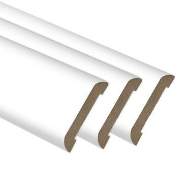 Opaska maskująca  biały mat6 cm CLASSEN