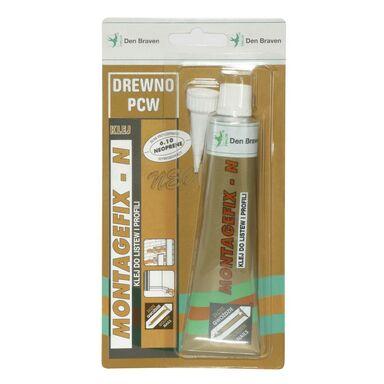 Klej montażowy MONTAGEFIX-N 80 ml Drewno, PCW DEN BRAVEN