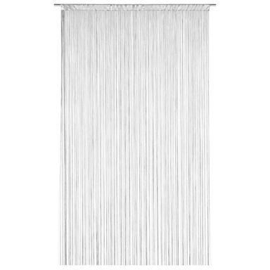 Zasłona sznurkowa makaron 140 x 250 cm biała