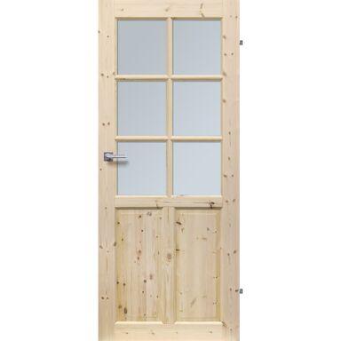 Skrzydło drzwiowe drewniane pokojowe Londyn Lux 80 Prawe Radex