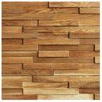 Panel ścienny drewniany Twig 4  0.42m2 Max-Stone