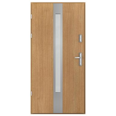 Drzwi wejściowe ARCTIC PASSIVE, model C.1 90 Lewe PORTA