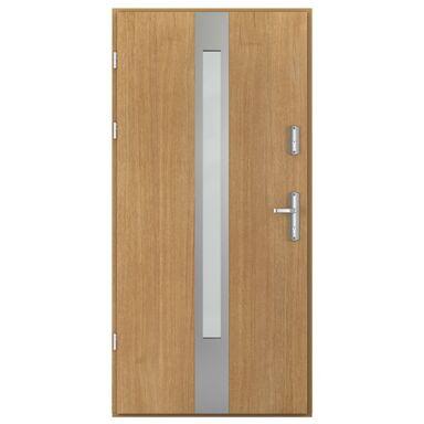 Drzwi zewnętrzne stalowe Artic Passive C.1 dąb winchester 90 lewe Porta