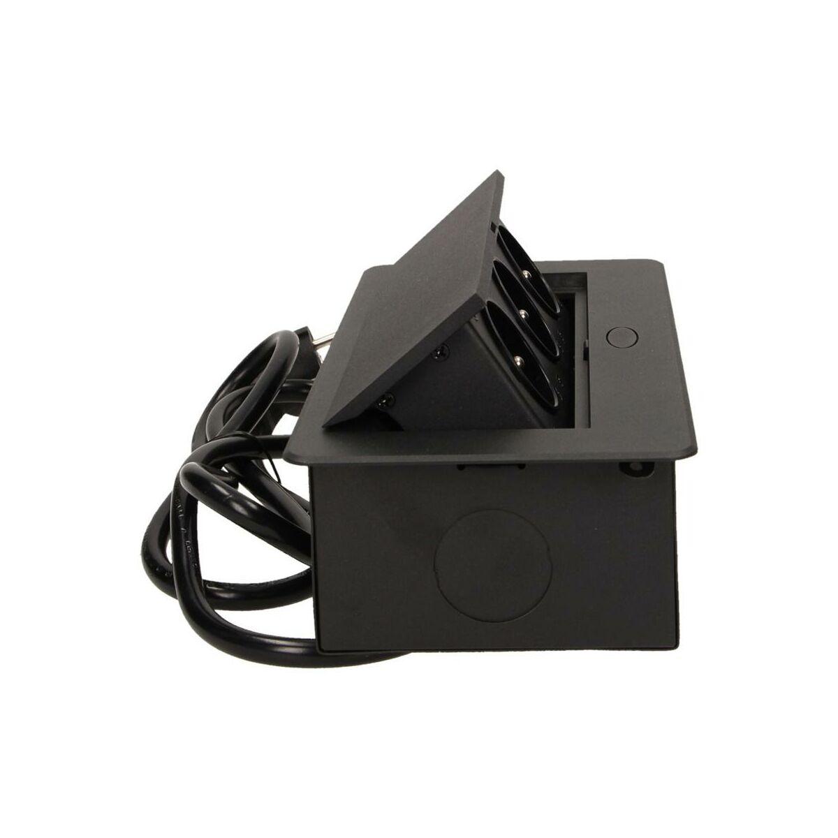 Przedluzacz Z Gniazdem Wpuszczanym 3x2p Z Czarne 1 5 M Orno Przedluzacze Domowe W Atrakcyjnej Cenie W Sklepach Leroy Merlin