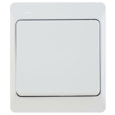 Włącznik pojedynczy schodowy IP44 HERMES  Biały  ELEKTRO-PLAST