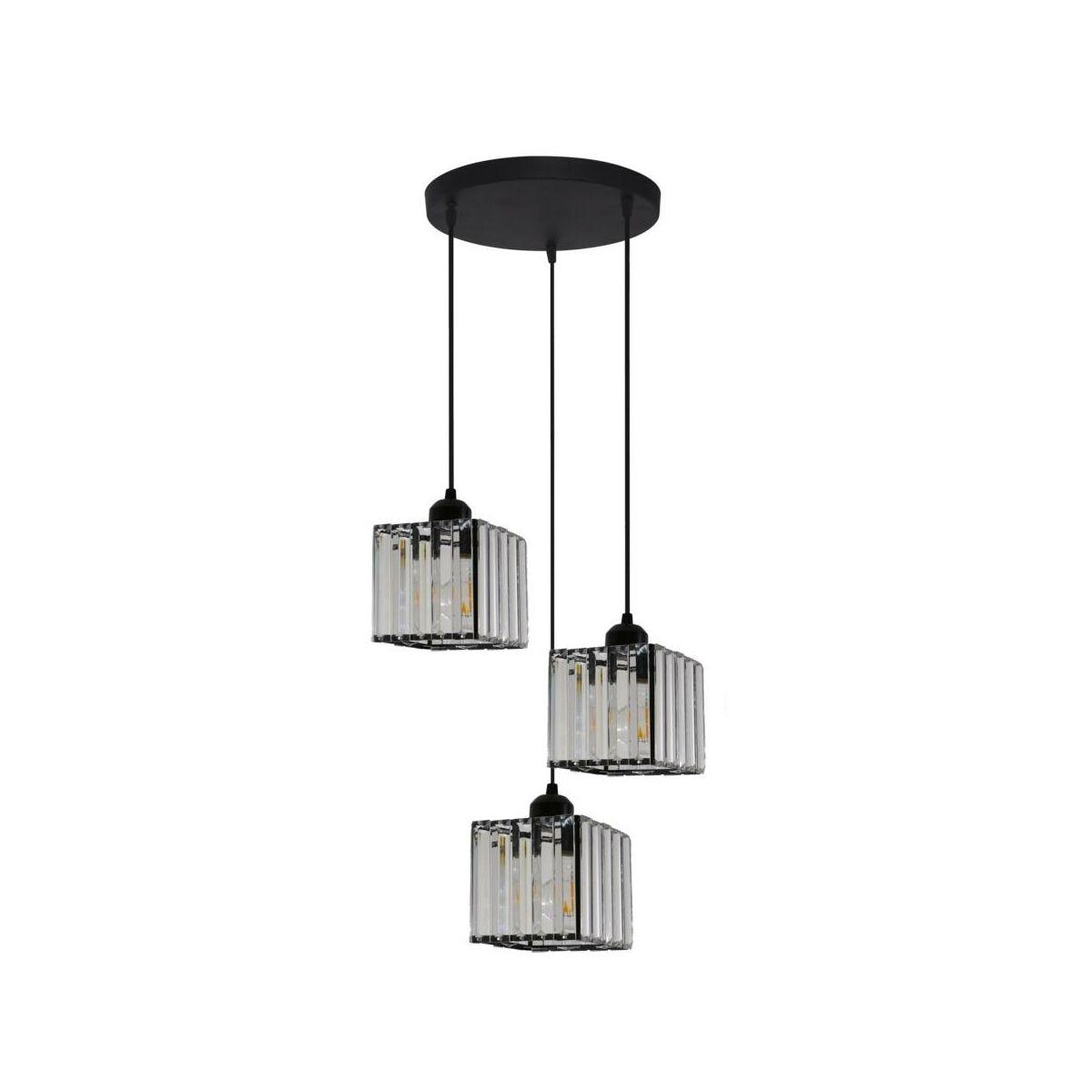 Lampa Wiszaca Galactico Czarna3 X E27 Light Prestige Zyrandole Lampy Wiszace I Sufitowe W Atrakcyjnej Cenie W Sklepach Leroy Merlin