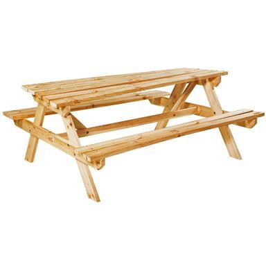 Ławka / stół piknikowy drewniany UPPSALA