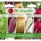 Zestaw polska grządka kolekcja nasiona na kiełki W. LEGUTKO
