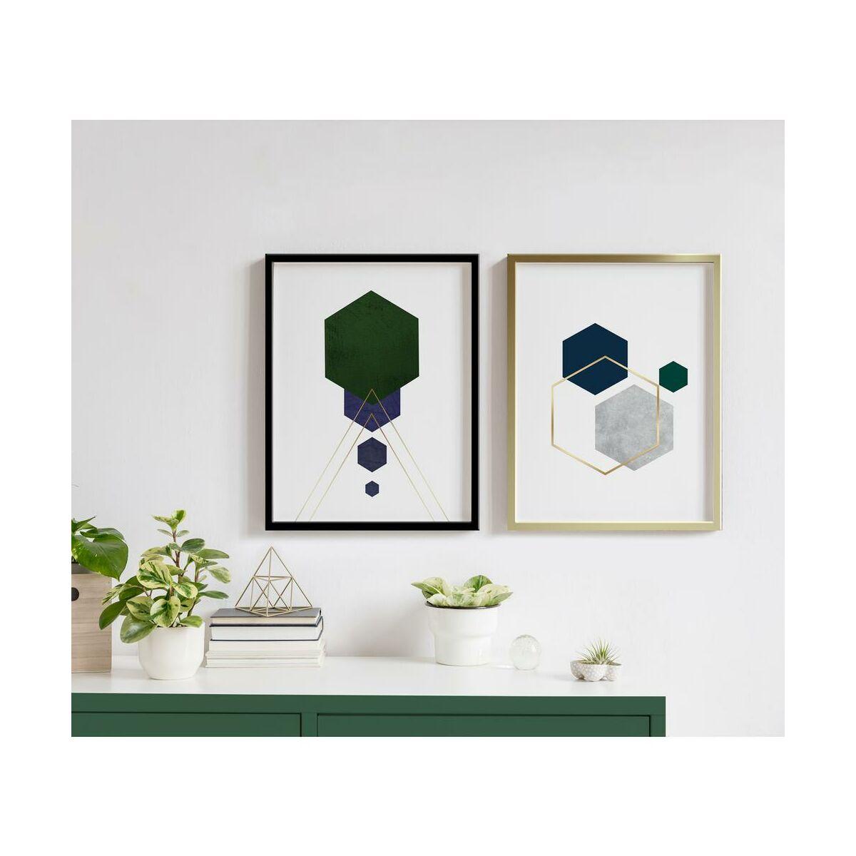 Obraz Hexagon 30 X 40 Cm Obrazy Kanwy W Atrakcyjnej Cenie W Sklepach Leroy Merlin