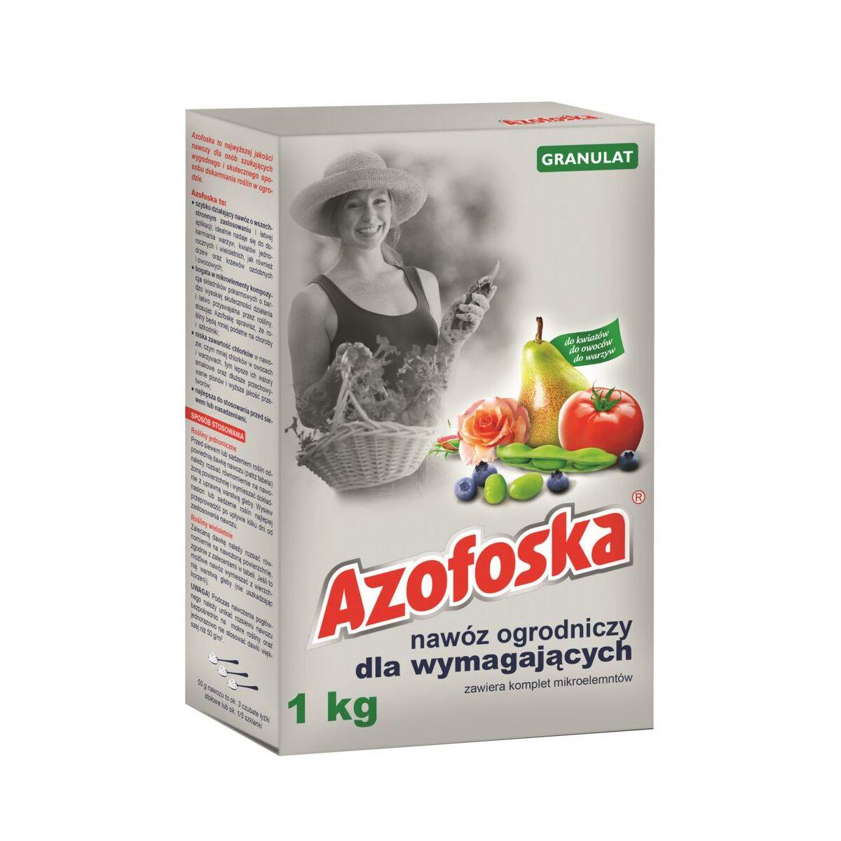 Nawóz uniwersalny 1 kg AZOFOSKA