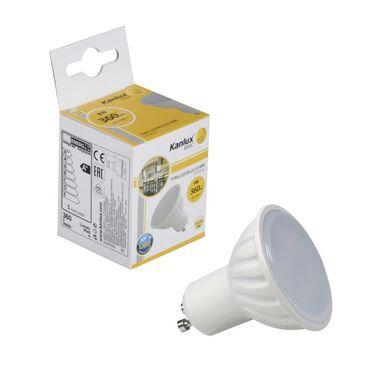 Żarówka LED GU10 (230 V) 5 W 360 lm Ciepła biel KANLUX