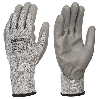 Rękawice ochronne r. 8 powlekane HPPE DEXTER
