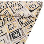 Tkanina zaciemniająca na mb KALA żółta szer. 150 cm