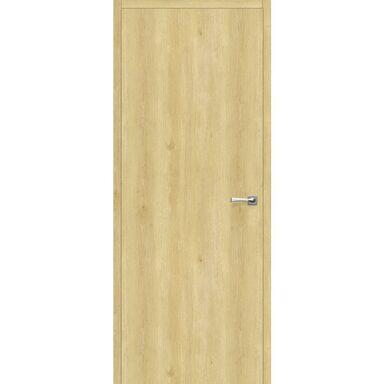 Skrzydło drzwiowe pełne bezprzylgowe Revers Dąb piaskowy 80 Uniwersalne wysokość 220 cm Artens