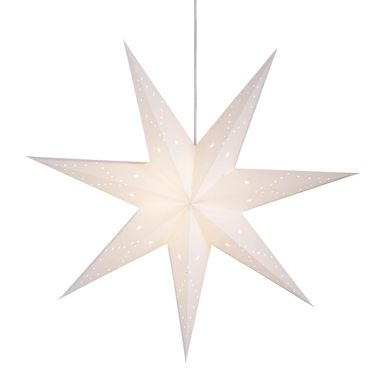 Gwiazda wisząca 75 cm biała SATURN