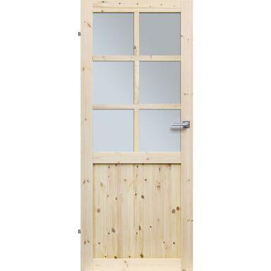 Skrzydło drzwiowe drewniane EKO 80 Lewe RADEX