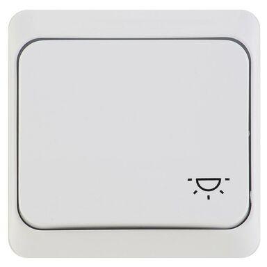 Przycisk do światła PRIMA  Biały  SCHNEIDER ELECTRIC