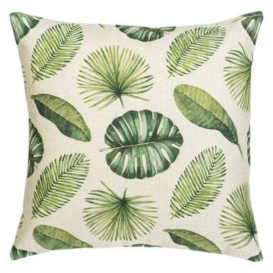 Poduszka w liście Malice zielona 40 x 40 cm Inspire