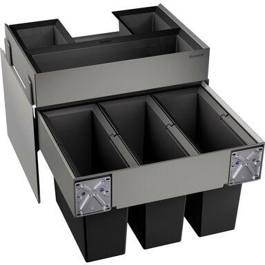Kosz na śmieci BLANCO SELECT ORGA 60/3 3 x 15 l