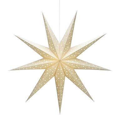Gwiazda stojąca 100 cm złota SOLVALLA