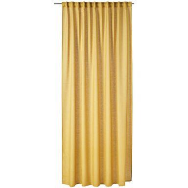 Zasłona Foggia żółta 200 x 280 cm na taśmie Inspire