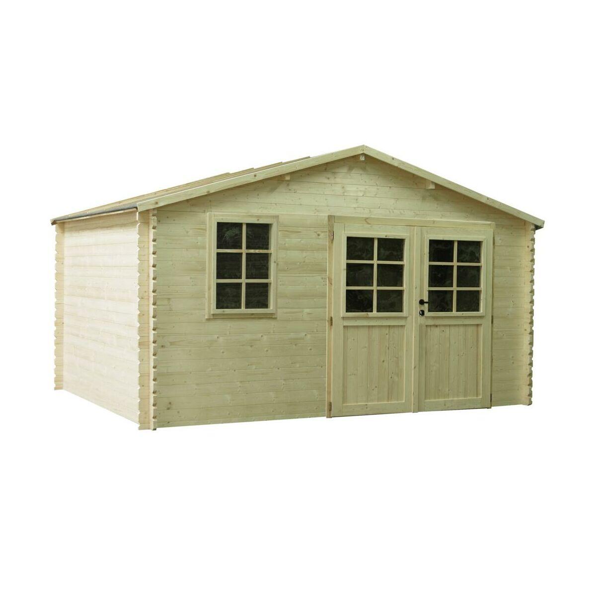 Domek Ogrodowy Gracja 406 X 300 Cm Werth Holz