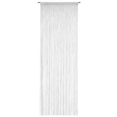 Zasłona sznurkowa makaron 90 x 250 cm biała