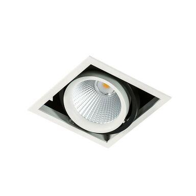 Oprawa stropowa oczko VERTICO biało-czarna kwadratowa LED ITALUX