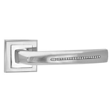 Klamka drzwiowa na rozecie COROLLA Nikiel SCHAFFNER