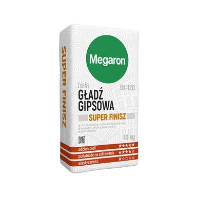 Gładź gipsowa SUPER-FINISZ GT-120 MEGARON