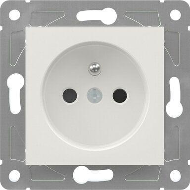 Gniazdo pojedyncze EDG1011W  biały  LEXMAN