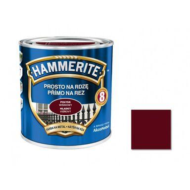 Farba antykorozyjna PROSTO NA RDZĘ 0.25 l Wiśniowy Połysk HAMMERITE