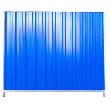 Panel ogrodzeniowy 216 x 200 cm budowlany trapezowy POLBRAM