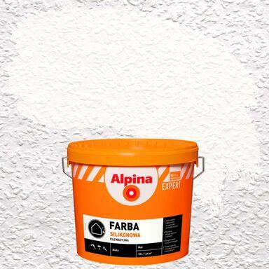 Farba elewacyjna silikonowa Biały ALPINA EXPERT