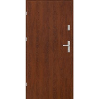 Drzwi wejściowe CASTELLO BASIC Orzech 90 Lewe EVOLUTION DOORS