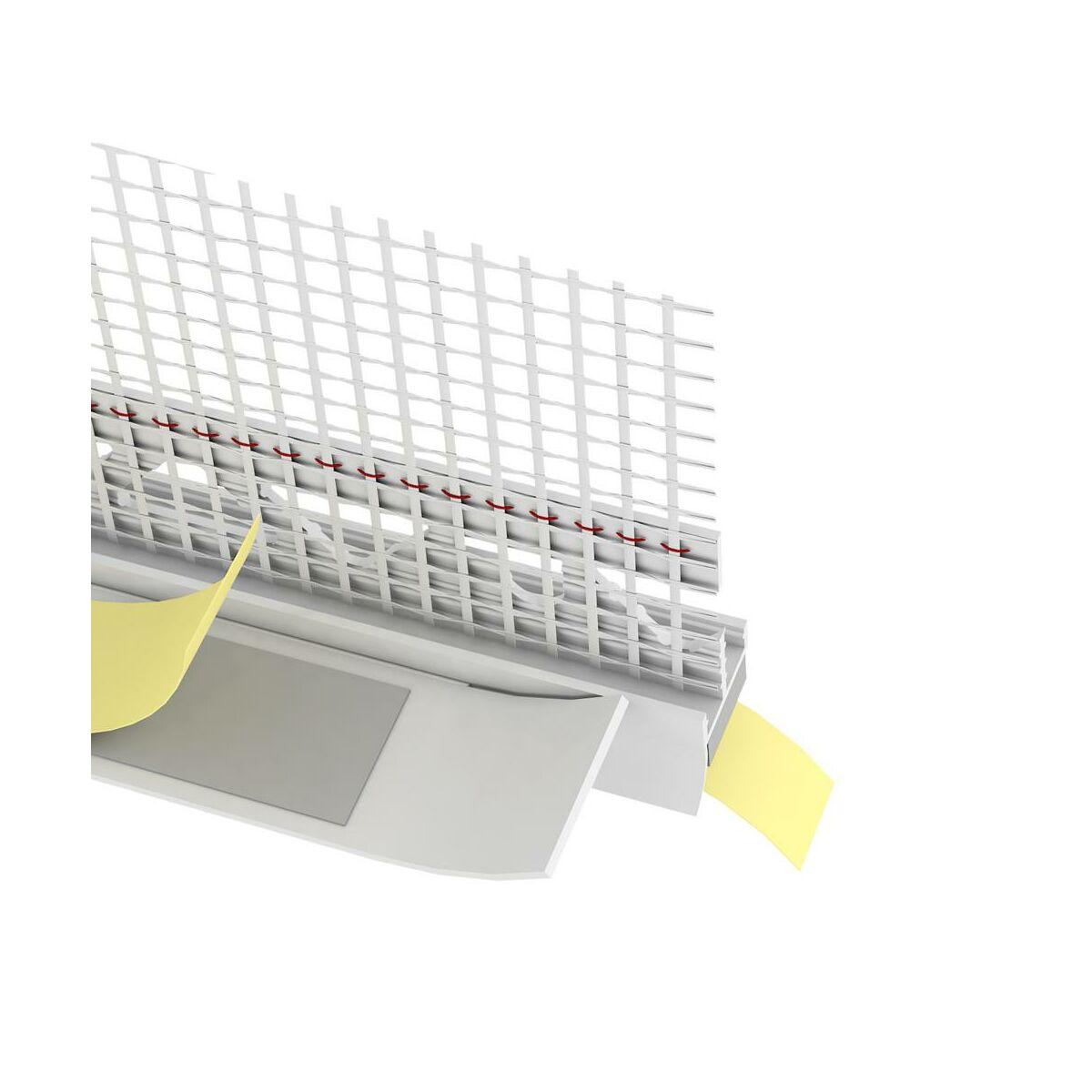 Listwa Przytynkowa Pcv Z Siatka 2 6 M Protektor Akcesoria Montazowe Do Systemow Docieplen W Atrakcyjnej Cenie W Sklepach Leroy Merlin