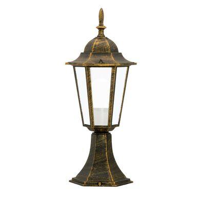 Lampa ogrodowa stojąca LIGURIA IP44 patyna E27 POLUX