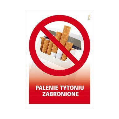 Znak informacyjny PALENIE TYTONIU ZABRONIONE